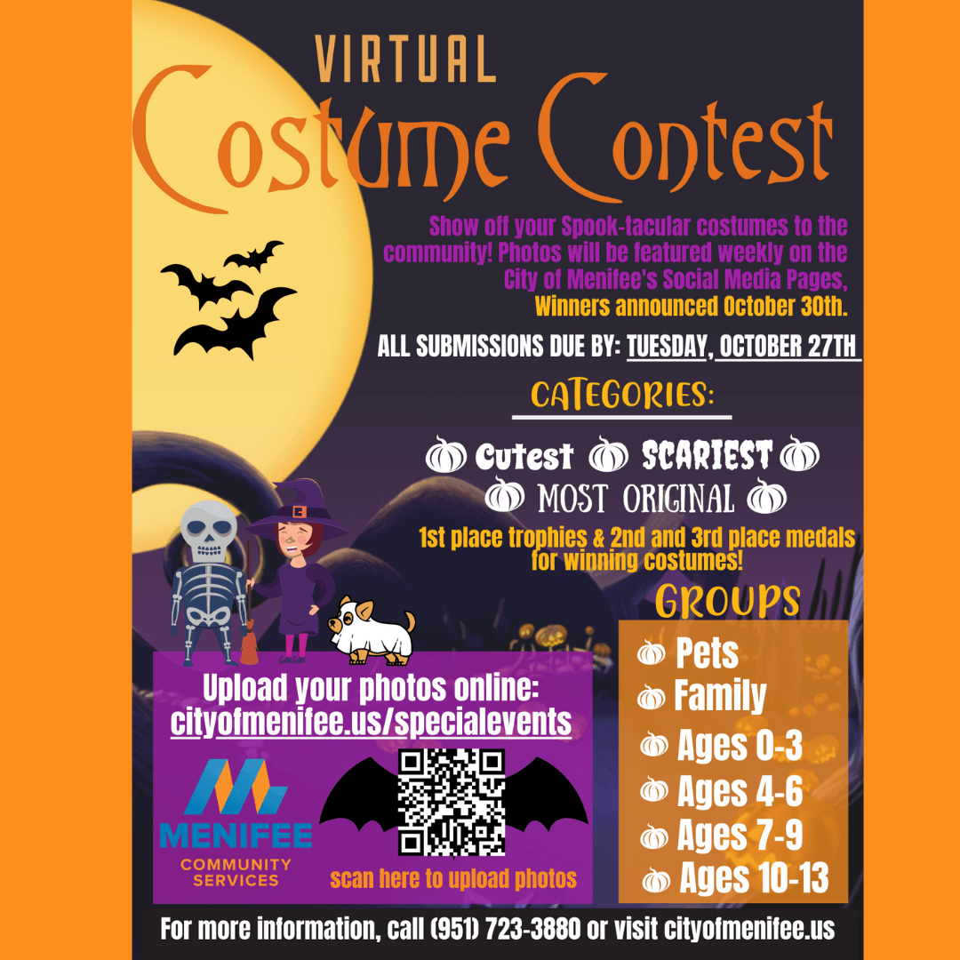 Virtual Costume Contest Flyer