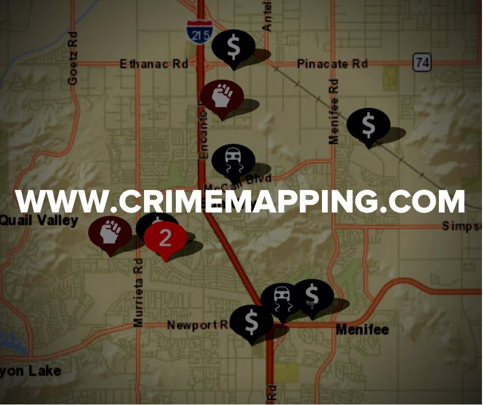 Crime Mapping Graphic