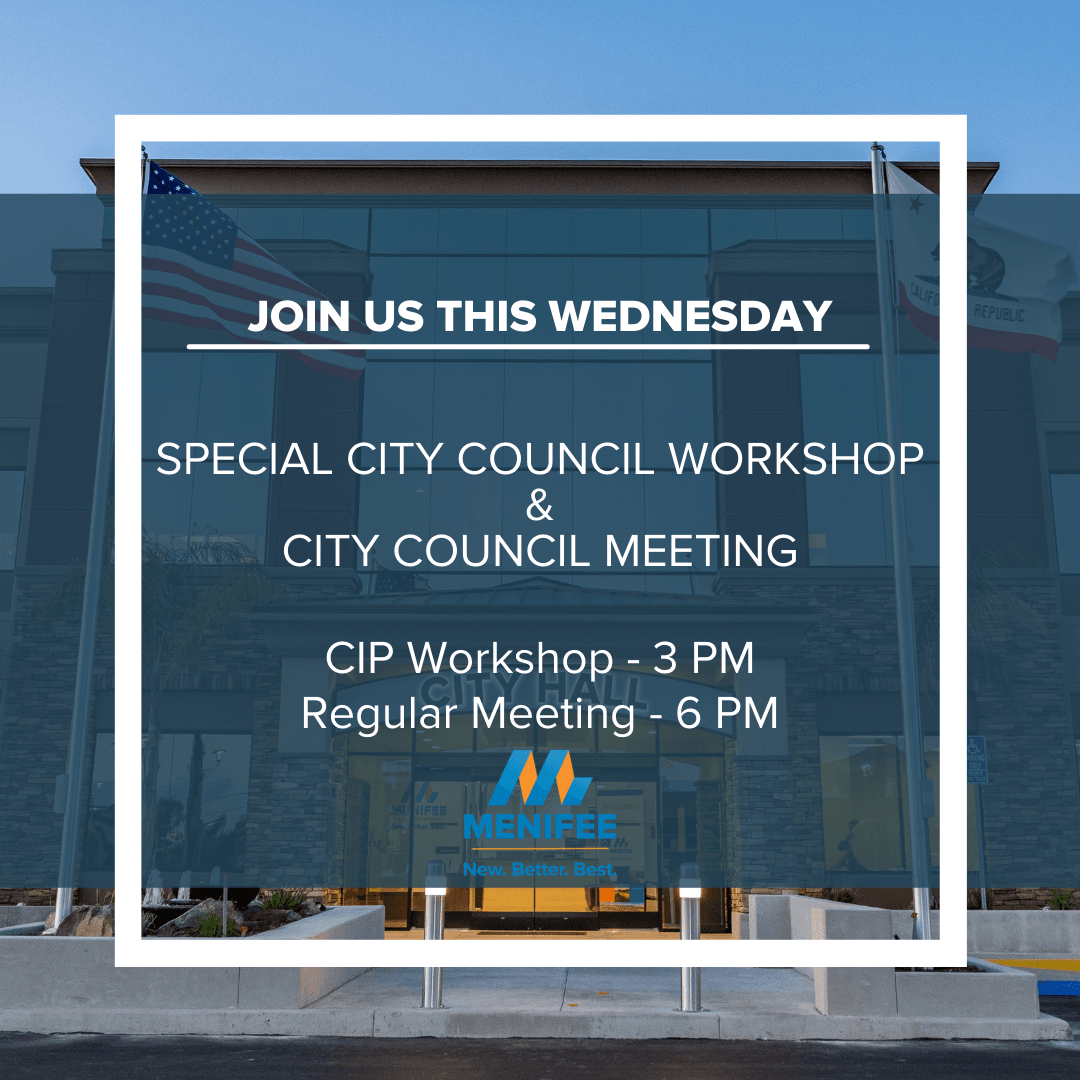 City Council Workshop and Meeting Announcement