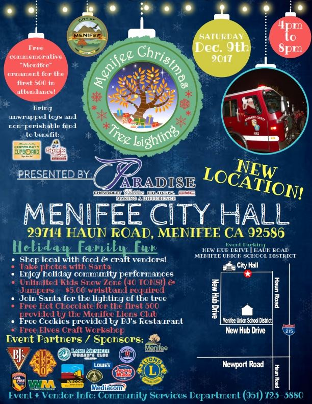 MENIFEE CHRISTMAS TREE LIGHTING - City Hall_001