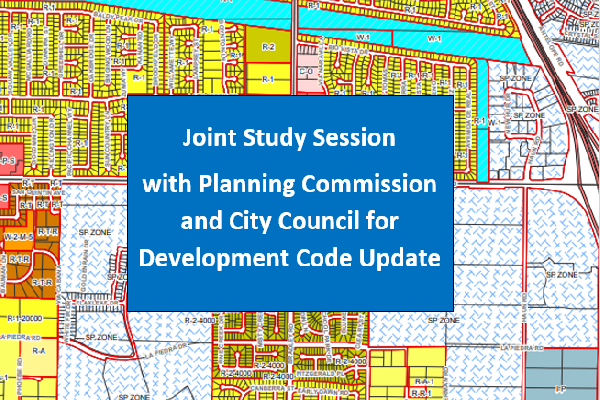 Joint Study Session - Development Code - Thumbnail