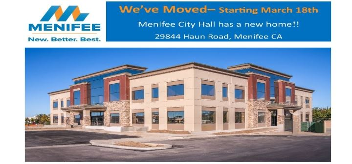 We've Moved - Starting March 18th