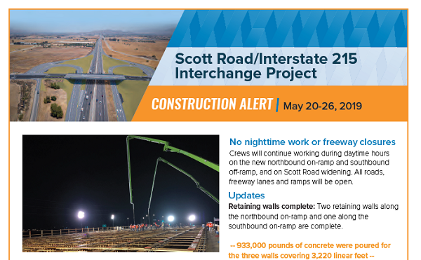 Scott Rd Update - Web Image