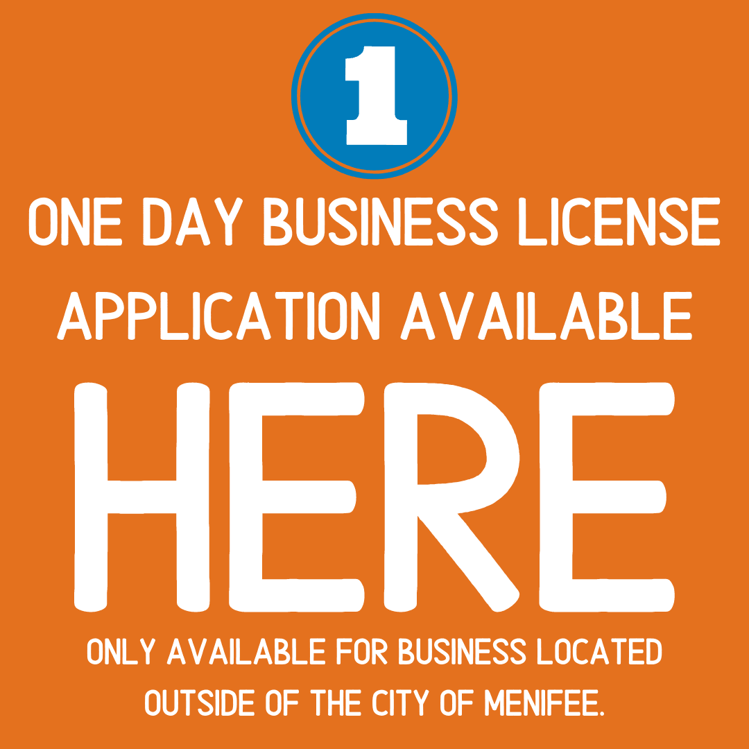 One Day Business License Application Link